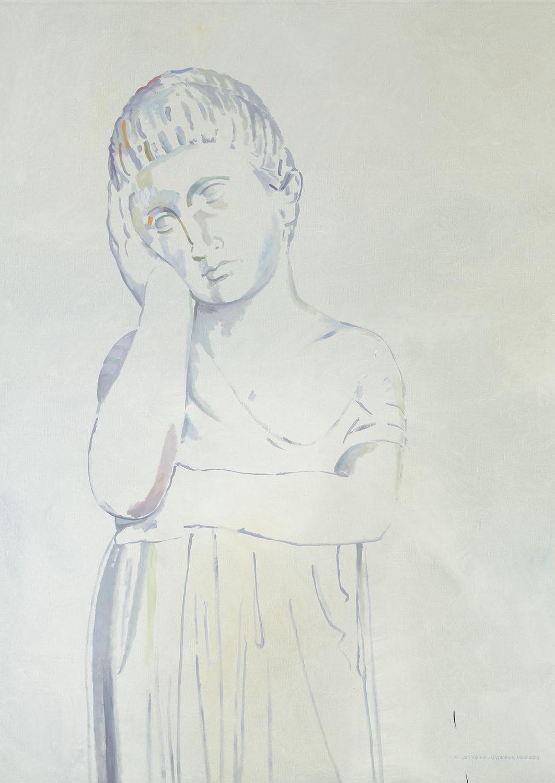 JAN VANRIET Glyptothek, Meditating