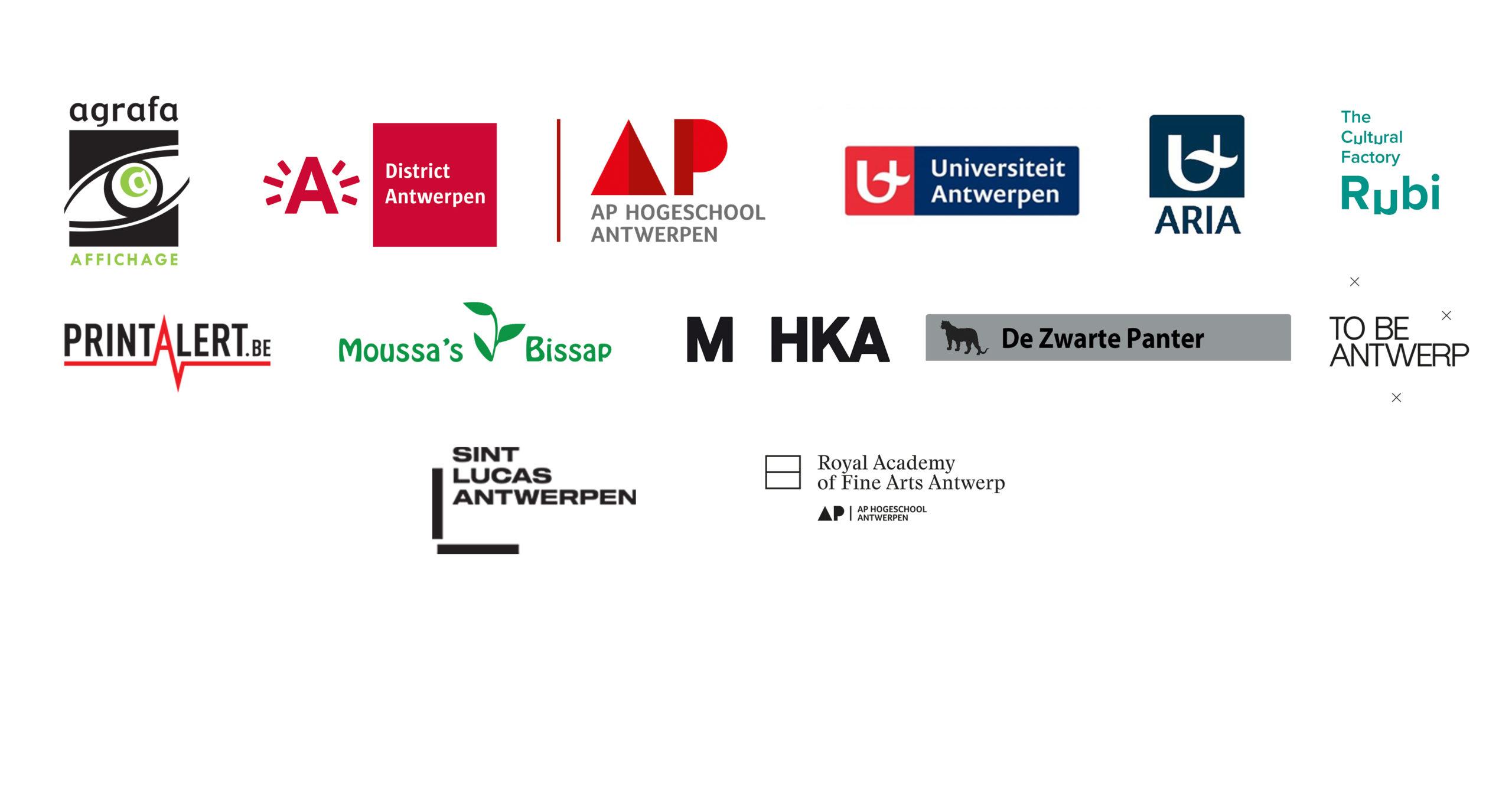 Partners Logos website